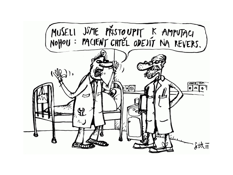 Marek Setikovsky Kreslene Vtipy A Karikatury Mc Praha 5