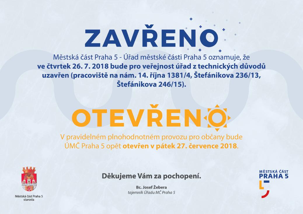 jednodenni-uzavreni-uradu-mestske-casti-praha-5-ve-ctvrtek-26-7-2018