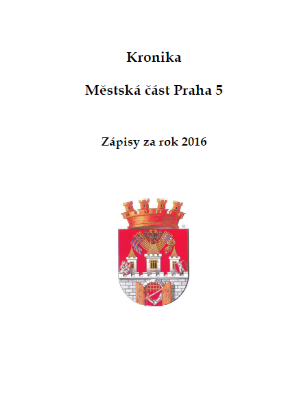 Kronika MČ Praha 5 (2015)