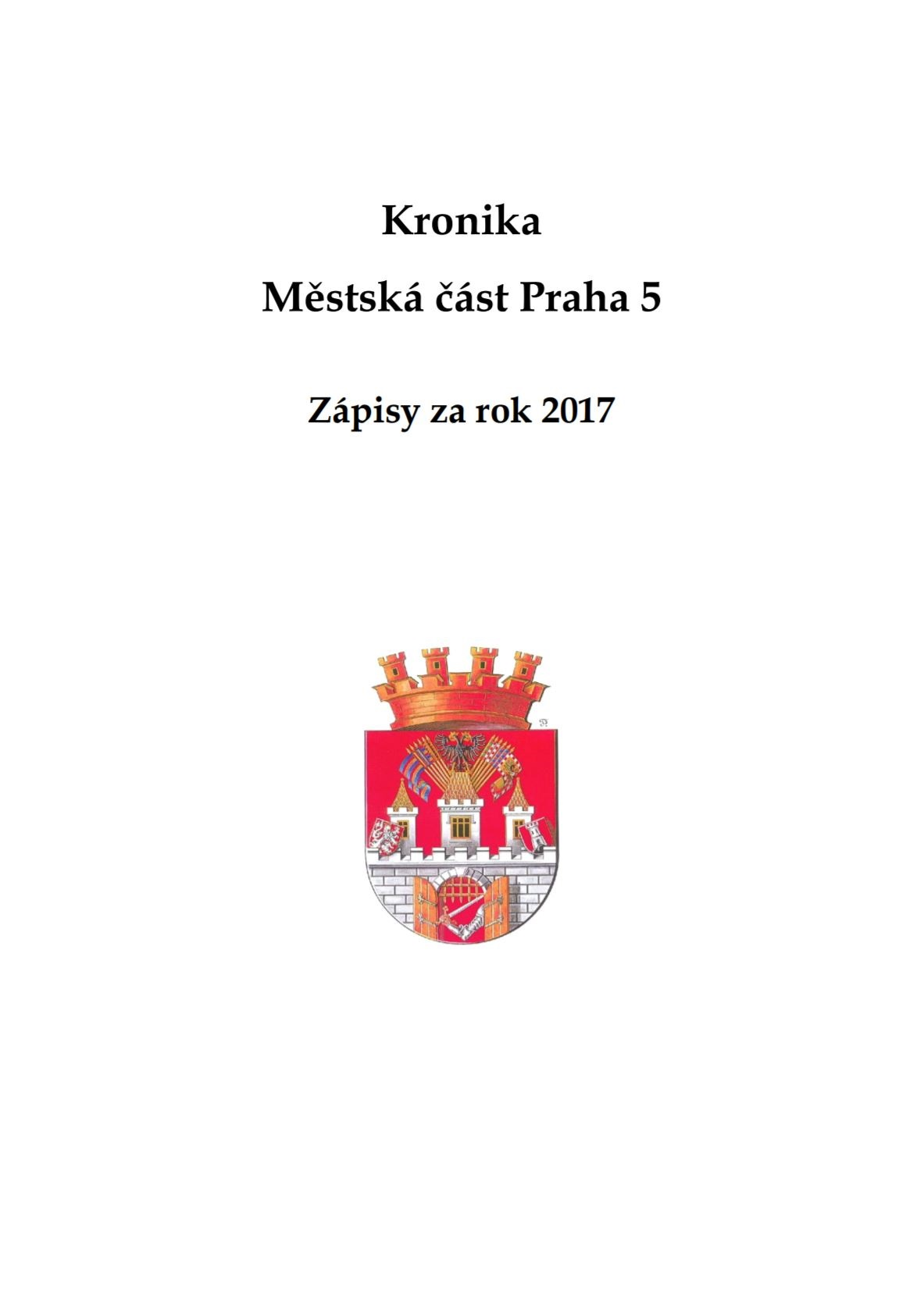 Kronika MČ Praha 5 (2017)