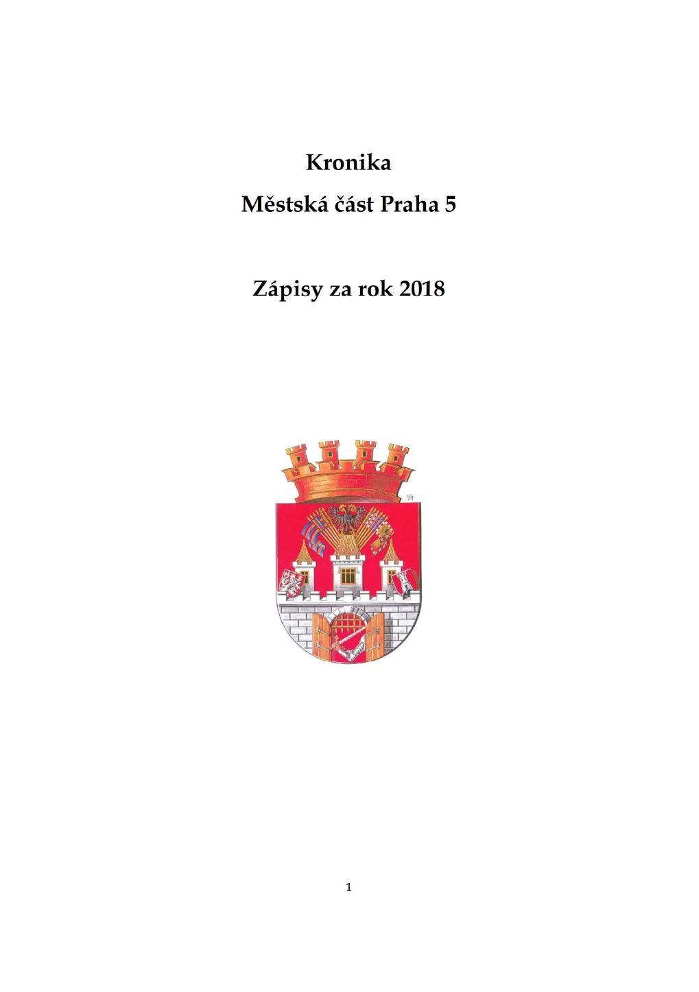 Kronika MČ Praha 5